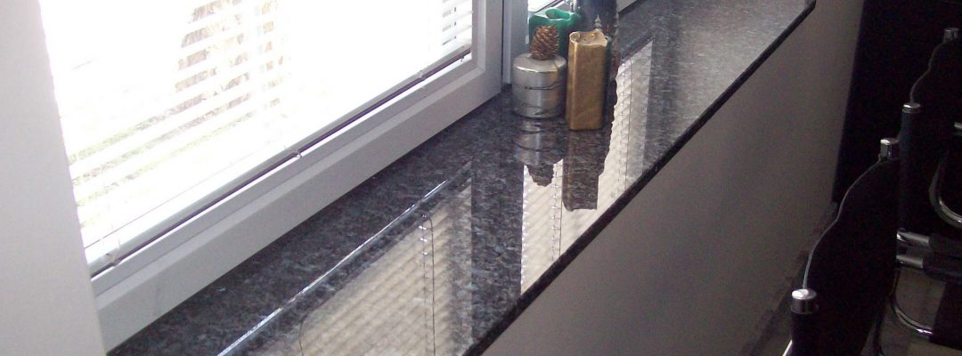Granit Fensterbank kaufen | verschiedene Farben und Sorten